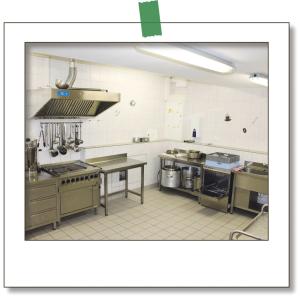 Küche Polaroid